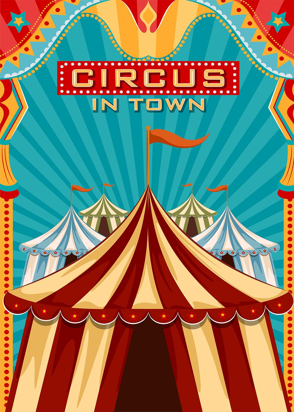 Details About Circus Carnival Party Theme Backdrop Carnival Party Cake Table Background Decors